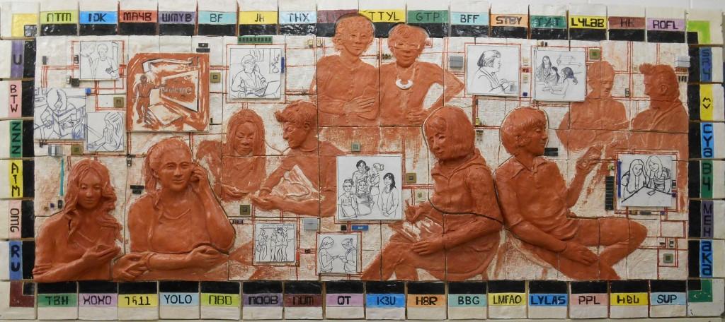 Social-e Me, mural KVHS