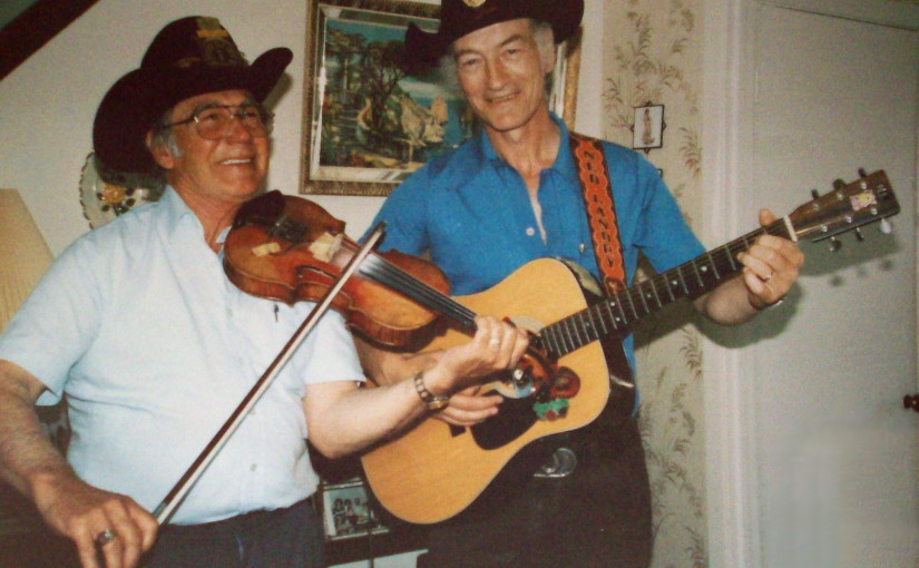 Stompin' Tom Connors and Ned Landry